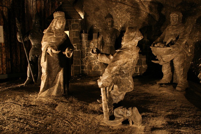 Salt Mine Statue