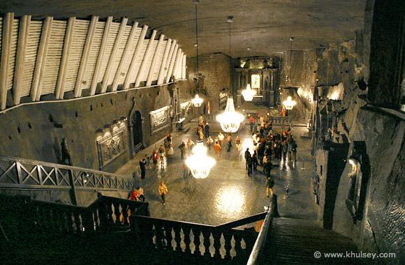 One of Chapels in Wileiczka Salt Mine